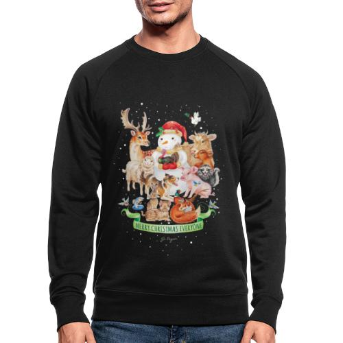 Vegan Christmas - Men's Organic Sweatshirt