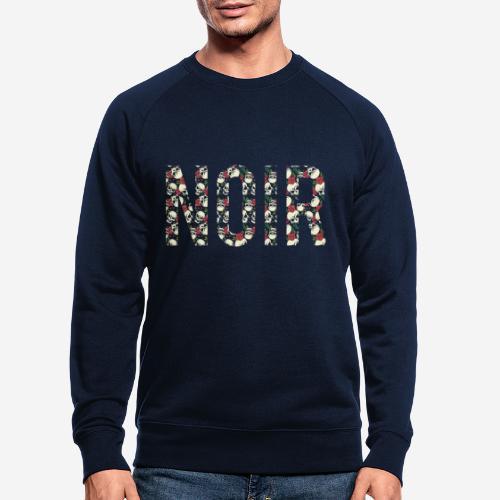 noir dunkelschwarz - Männer Bio-Sweatshirt