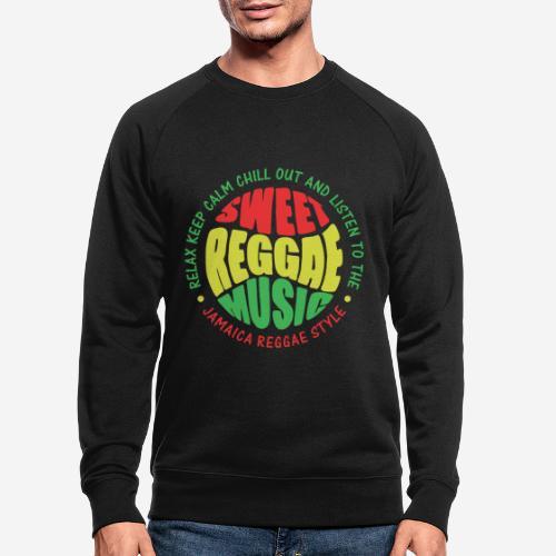 relax chill reggae music jamaica - Männer Bio-Sweatshirt von Stanley & Stella