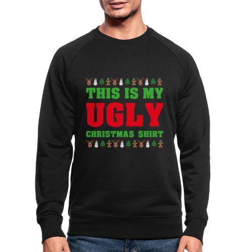 This is my Ugly Xmas Shirt - Männer Bio-Sweatshirt von Stanley & Stella