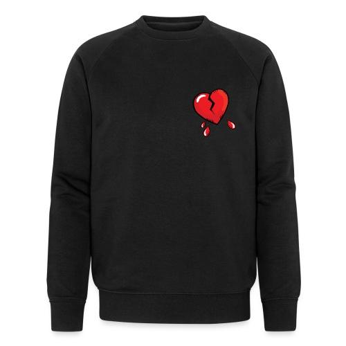 Broken Heart - Men's Organic Sweatshirt