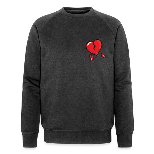 Broken Heart - Men's Organic Sweatshirt by Stanley & Stella