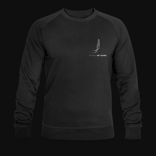 Ariane 40 years - Men's Organic Sweatshirt by Stanley & Stella