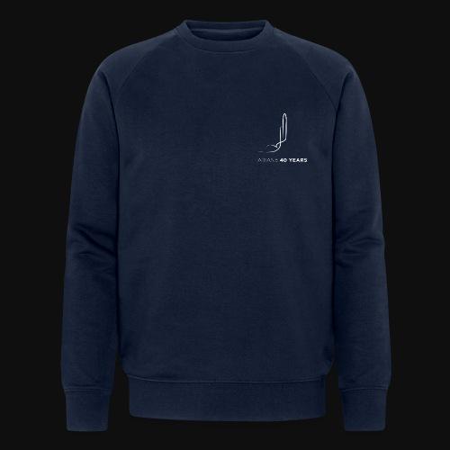 Ariane 40 years - Men's Organic Sweatshirt by Stanley & Stella
