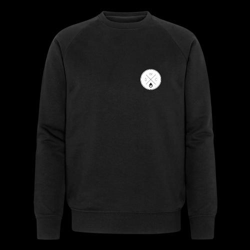 WSC Hipster-Logo rund weiß - Männer Bio-Sweatshirt von Stanley & Stella