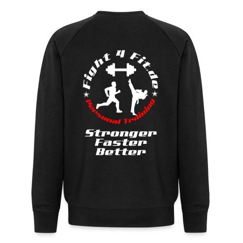 logo tri 3 - Männer Bio-Sweatshirt