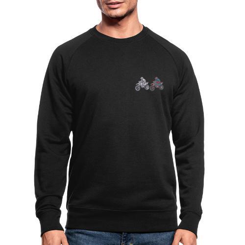 Motocross - Männer Bio-Sweatshirt