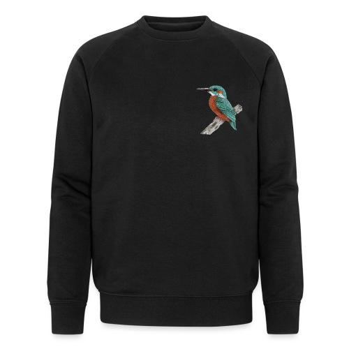 Ijsvogel - Mannen bio sweatshirt