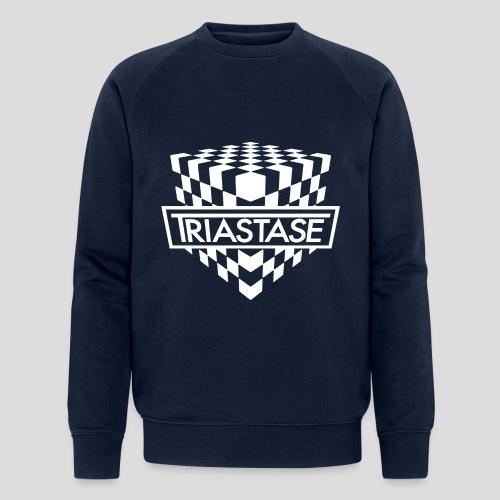 Triastase Logo White - Men's Organic Sweatshirt by Stanley & Stella