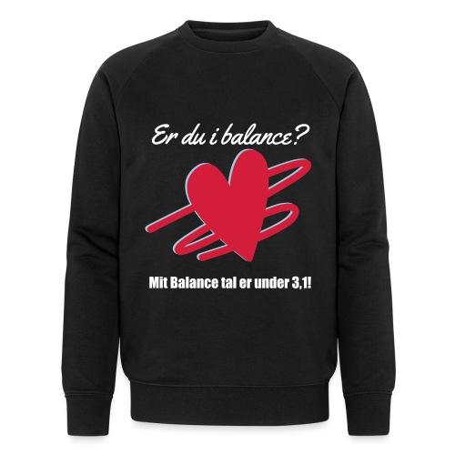 I Balance Design - Økologisk sweatshirt til herrer