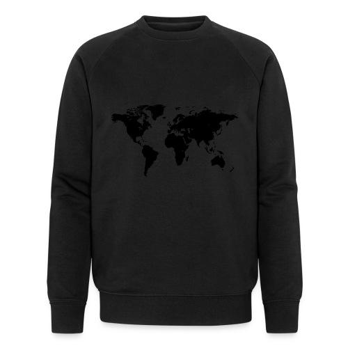 World Map - Männer Bio-Sweatshirt von Stanley & Stella