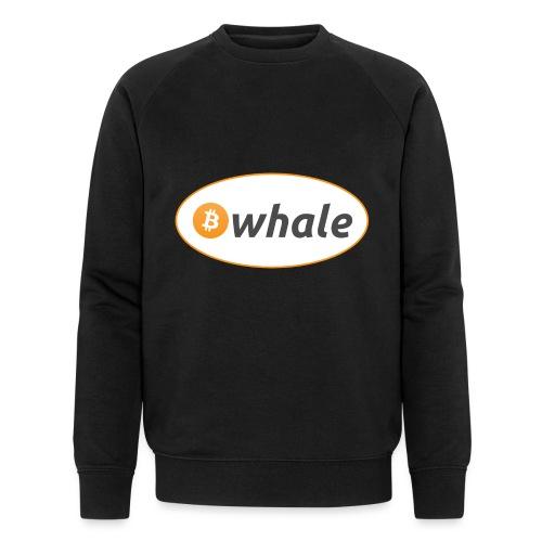 Bitcoin Whale - Men's Organic Sweatshirt by Stanley & Stella