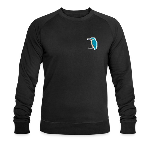 Eisvogel Fliegender Edelstein - Männer Bio-Sweatshirt