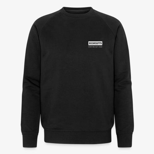 BRENNSUPPN SURFING SQUARE SWEATER - Männer Bio-Sweatshirt