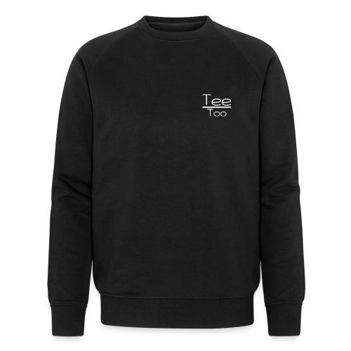TeeToo text logga vit - Ekologisk sweatshirt herr från Stanley & Stella
