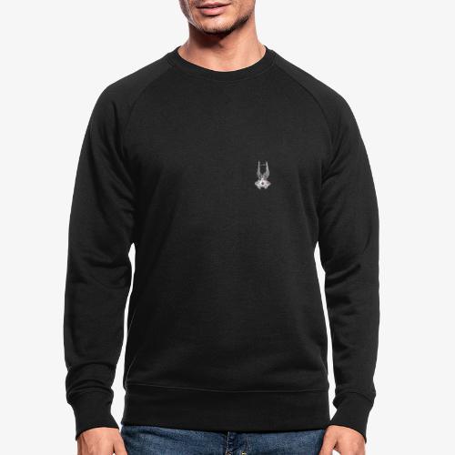 Fux Skull-ver2 - Männer Bio-Sweatshirt