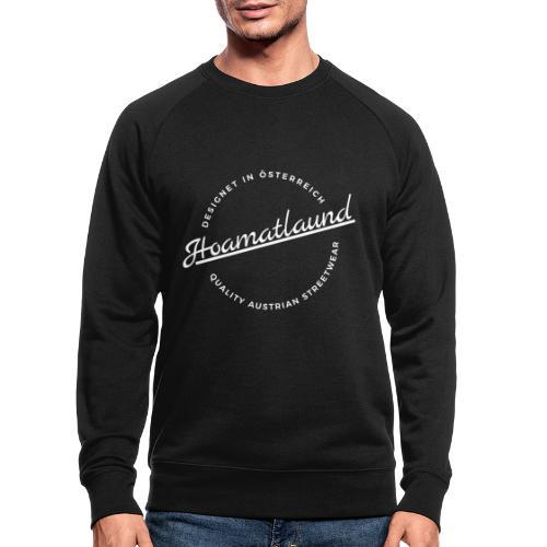 logorund - Männer Bio-Sweatshirt