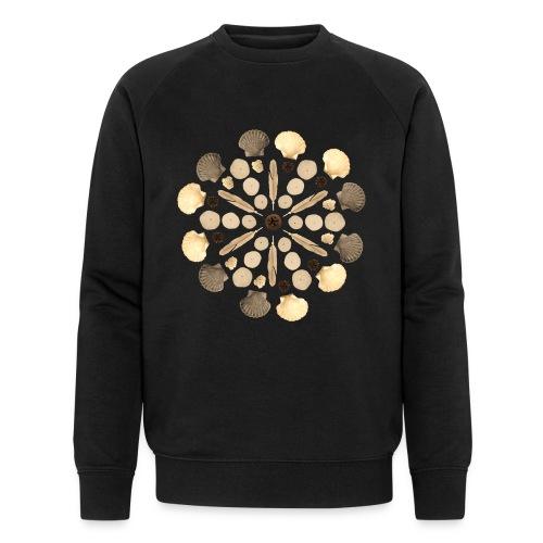 Ocean Mandala - Männer Bio-Sweatshirt