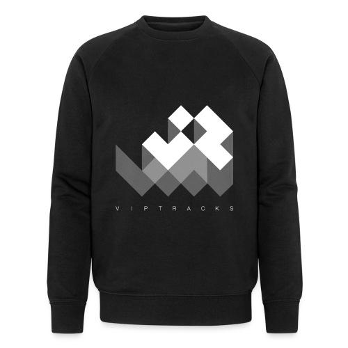 LOGO VIPTRACKS RELEASES - Mannen bio sweatshirt