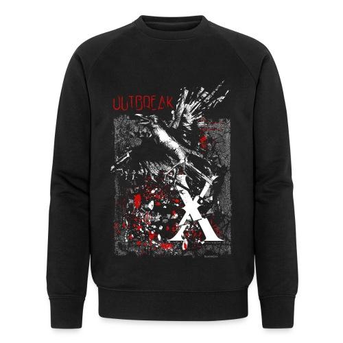 RAVEN | OUTBREAK-X - Männer Bio-Sweatshirt