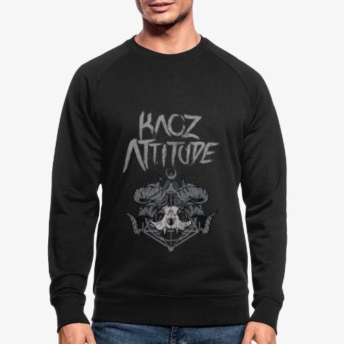 Racoon Demonlord - Männer Bio-Sweatshirt