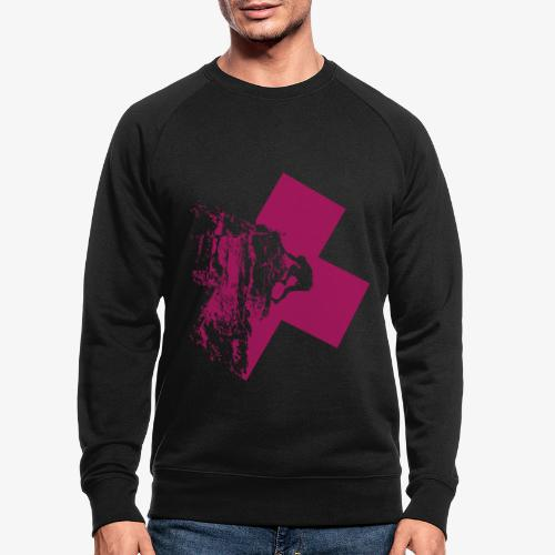 Climbing away - Men's Organic Sweatshirt