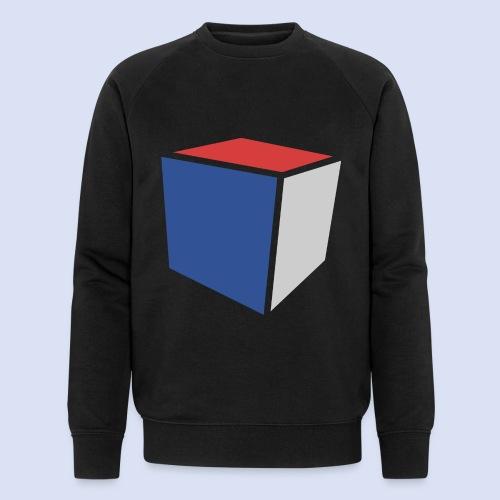 Cube Minimaliste - Sweat-shirt bio Stanley & Stella Homme