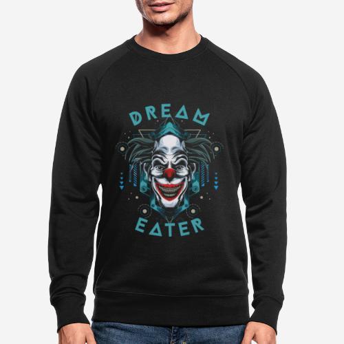 clown dream catcher - Männer Bio-Sweatshirt
