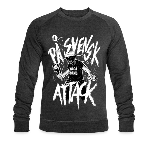 På Svenska Tack - Men's Organic Sweatshirt by Stanley & Stella