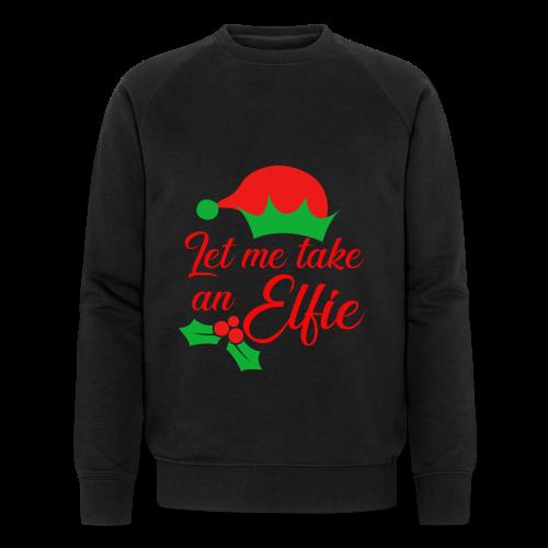 Weihnachten | Elf Mütze Weihnachtself Wortspiel - Männer Bio-Sweatshirt von Stanley & Stella