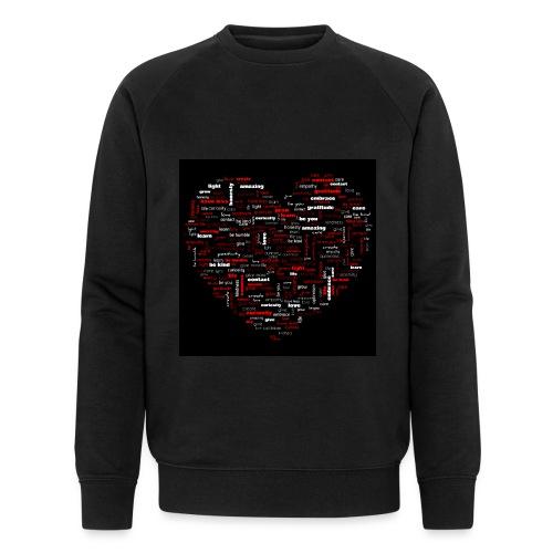 Heart - Men's Organic Sweatshirt by Stanley & Stella