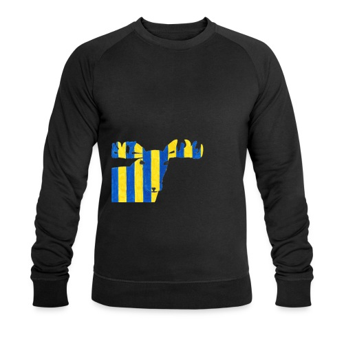 Elch 3 - Männer Bio-Sweatshirt von Stanley & Stella