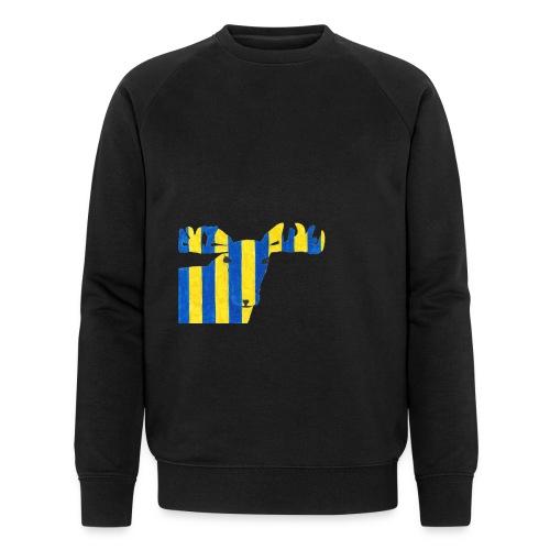 Elch 3 - Männer Bio-Sweatshirt