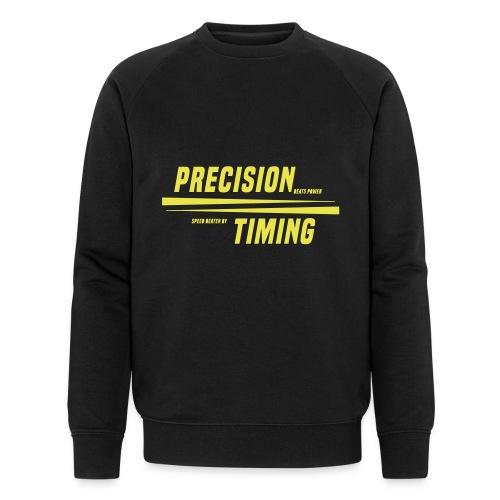 PRECISION & TIMING - Økologisk Stanley & Stella sweatshirt til herrer