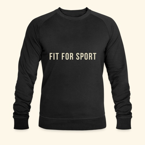 FIT FOR SPORT - Økologisk sweatshirt til herrer