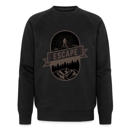 Dark escape - Men's Organic Sweatshirt by Stanley & Stella