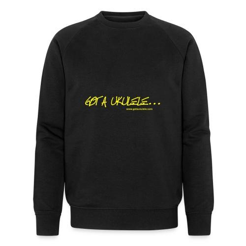 Official Got A Ukulele website t shirt design - Men's Organic Sweatshirt