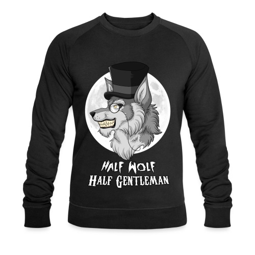 Half Wolf Half Gentleman - Ekologiczna bluza męska
