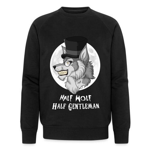 Half Wolf Half Gentleman - Men's Organic Sweatshirt
