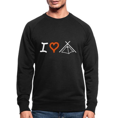 I love Kothe - Männer Bio-Sweatshirt