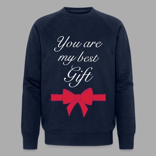 you are my best gift - Men's Organic Sweatshirt by Stanley & Stella