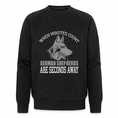Berger Allemand minutes count - Sweat-shirt bio