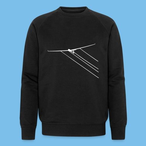 Wasser Segelflugzeug Segelflieger Geschenkidee - Männer Bio-Sweatshirt von Stanley & Stella