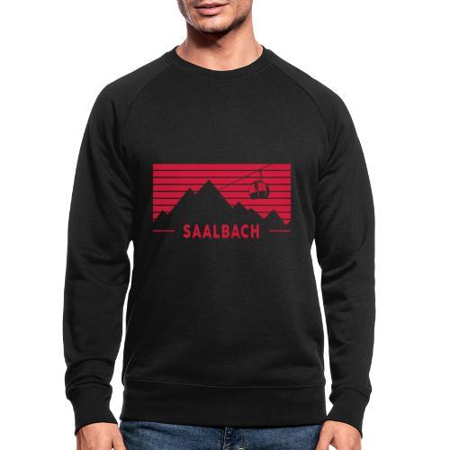 Saalbach Stripes - Mannen bio sweatshirt