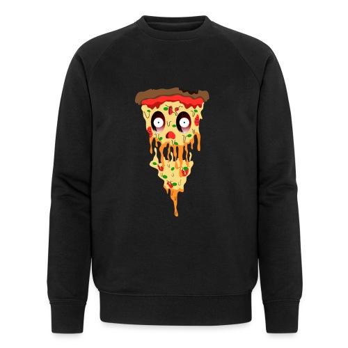 Schockierte Horror Pizza - Männer Bio-Sweatshirt von Stanley & Stella