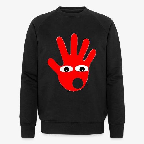 Hände mit Augen - Sweat-shirt bio Stanley & Stella Homme