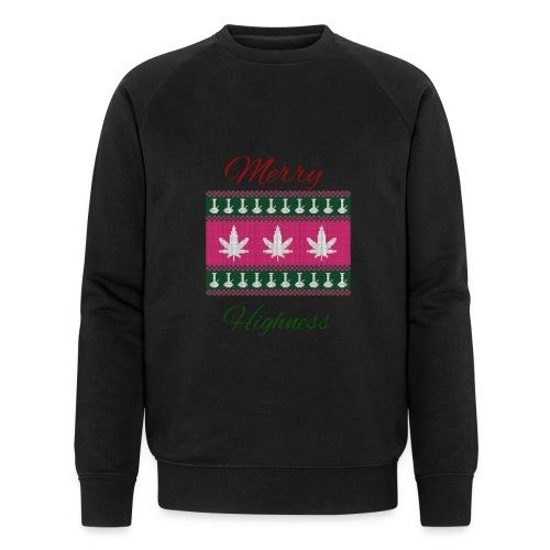 merry highness - Männer Bio-Sweatshirt von Stanley & Stella