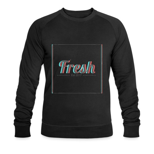 Fresh 3D logo - Men's Organic Sweatshirt by Stanley & Stella