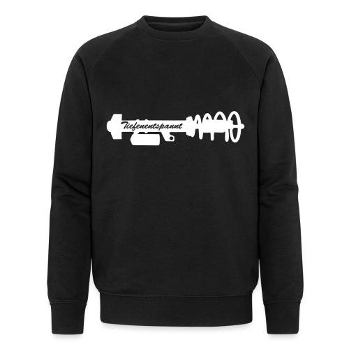 Tiefenentspannt - Männer Bio-Sweatshirt von Stanley & Stella