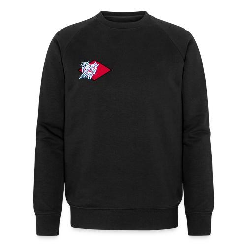 Red logo - Men's Organic Sweatshirt